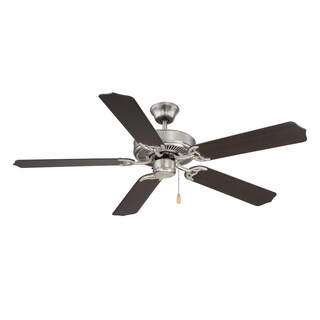 The Builder Specialty Ceiling Fan Brushed Nickel/Pewter