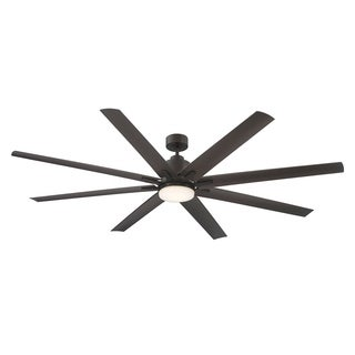 Savoy House Bluffton Bronze-finished Metal 72-inch 8-blade Ceiling Fan