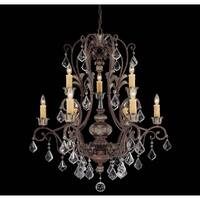 Savoy House Elizabeth Brown Metal and Crystal 9-light Chandelier