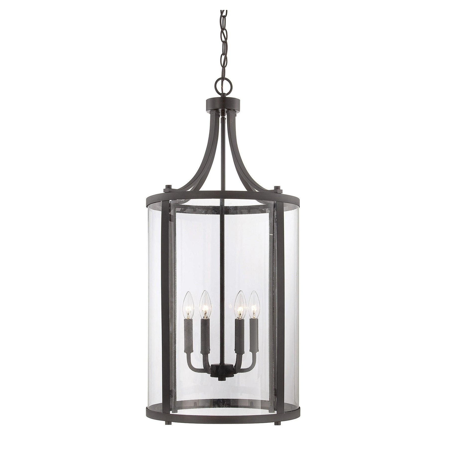 Penrose 6 Light Medium Foyer Lantern English Bronze