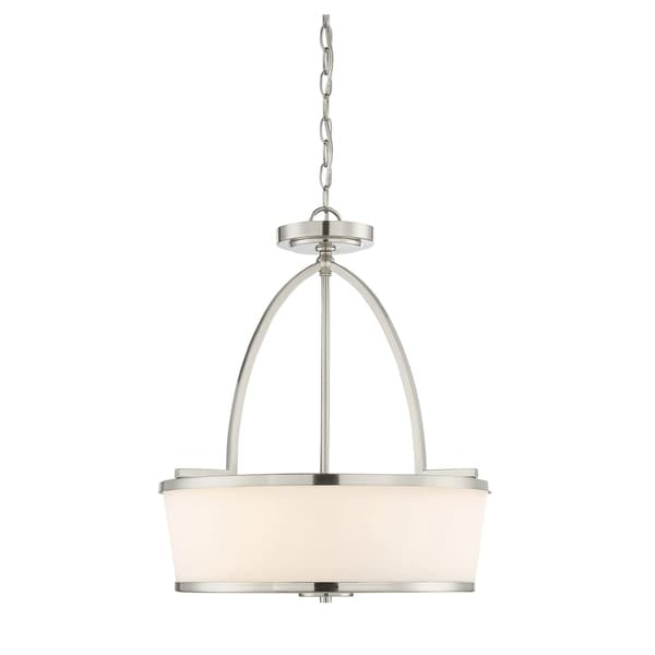 Savoy House Hagen Satin Nickel Pendant