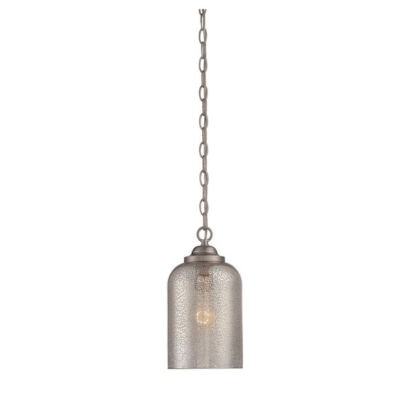 Savoy House Bally Satin Nickel Single-light Pendant
