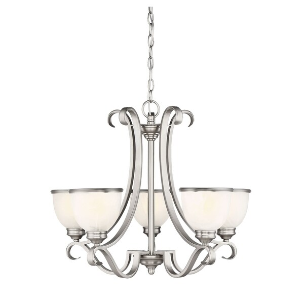 Savoy House Willoughby Pewter 5-light Chandelier