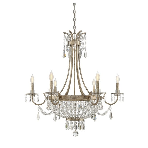 Claiborne 6 Light Chandelier Avalite