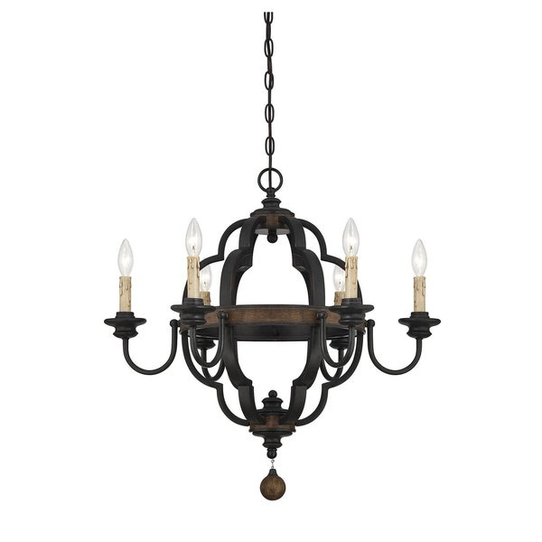 Savoy House Kelsey Durango Finish 6-light Chandelier