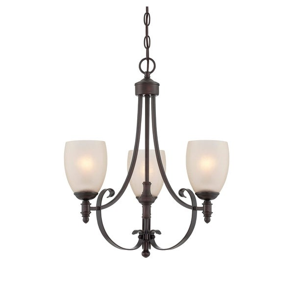 Duvall 3 Light Chandelier English Bronze