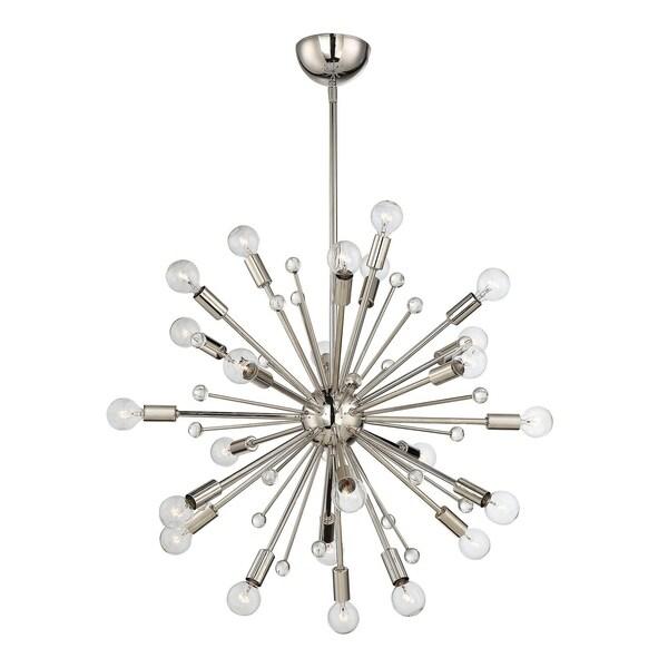 Savoy House Galea Polished Nickel 24-light Chandelier