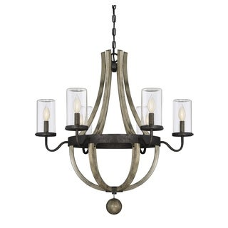 Savoy House Eden Weathervane 6 Light Outdoor Chandelier