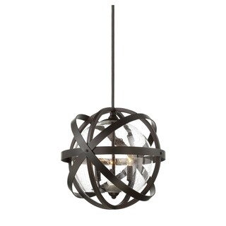Bassett 3 Light Outdoor Pendant English Bronze