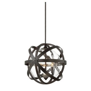 Savoy House Bassett English Bronze 3-light Outdoor Pendant