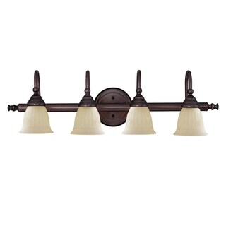 Brunswick 4 Light Bath Bar English Bronze