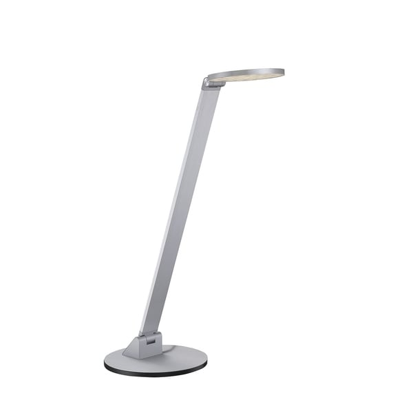 Fusion LED Task Lamp with Dimmer Naturaul Aluminum