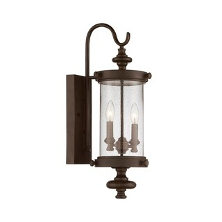 Palmer Wall Lantern Walnut Patina