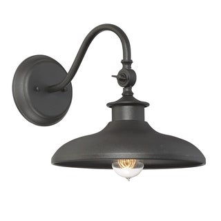 "Raleigh 11"" Wall Lantern Black"