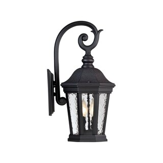 Hampden Wall Lantern Black