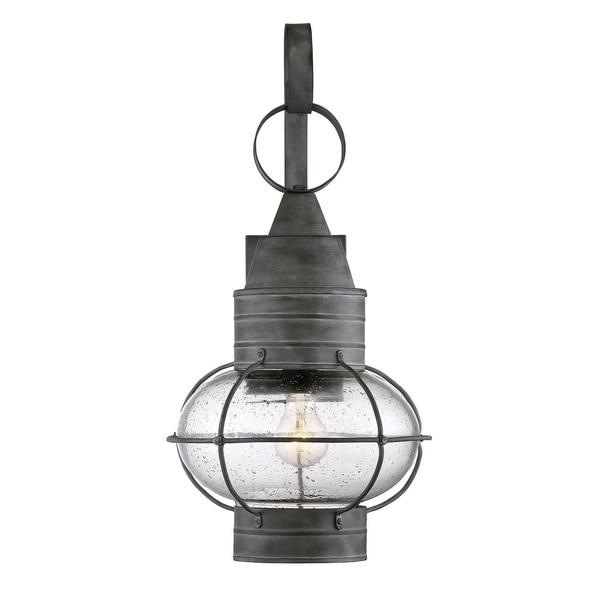 Enfield Wall Lantern Oxidized Black