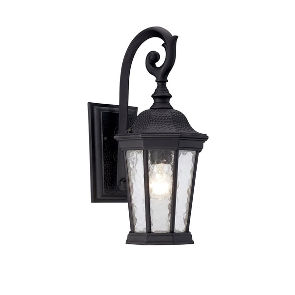 Hampden Wall Lantern Black