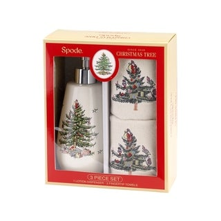 Spode Red Tree 3pc Box Set