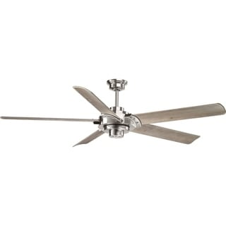 Ellwood Collection Wood 68-inch Fan with Carved Blades
