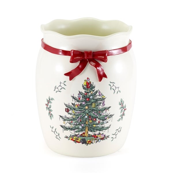 Spode Tree Red Wastebasket N A