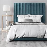Arabelle Sea Blue Velvet  Bed
