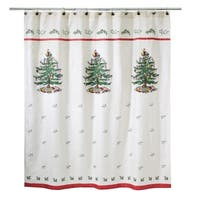 Spode Tree Red Shower Curtain