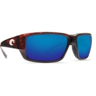 Costa Del Mar Fantail Polarized Tortoise Men Sunglasses TF-10-OBMP