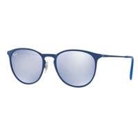 Ray-Ban Erika Metal Blue Unisex Sunglasses - RB3539-90221U-54
