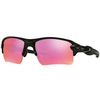 Oakley Flak 2.0 XL OO9188-06 Rectangular Polished Men's Black Sunglasses - OO9188-918806
