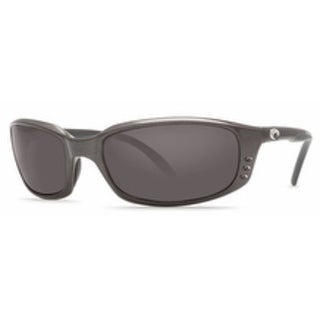Costa Del Mar Brine Polarized Gunmetal Men Sunglasses BR-22-OGGLP