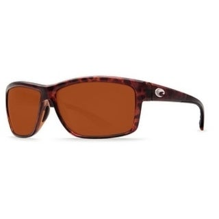 Costa Del Mar Mag Bay Polarized Tortoise Sunglasses - AA-10-OCGLP