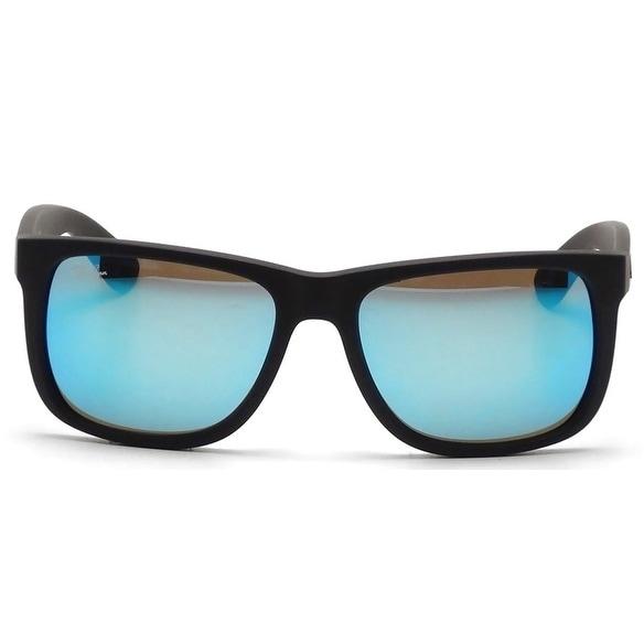 09eba8c3df ... order ray ban justin color mix blue mirror sunglasses rb4165 622 55 55  fb52a 1e182