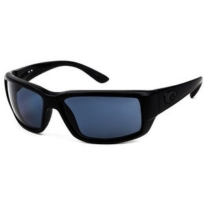 8a97037a0b6 Shop Costa Del Mar Fantail TF-01-OGP Polarized Blackout Men Sunglasses -  Free Shipping Today - Overstock - 17372870