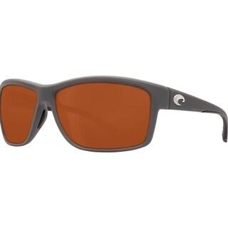 Costa Del Mar Mag Bay Polarized Matte Gray Sunglasses - AA-98-OCP