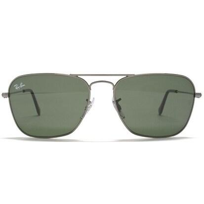 5257ad299d Ray-Ban Caravan Green Classic G-15 Gunmetal Sunglasses RB3136-004-55 ...