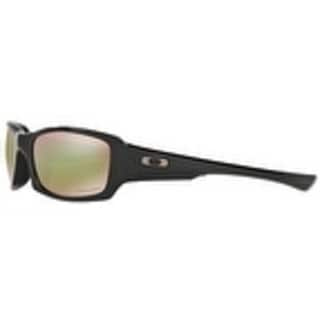 03c49b7a90 Shop Oakley Fives Squared Polarized Polished Black Prizm Shallow Water Mens  Sunglasses - OO9238-923818 - Free Shipping Today - Overstock.com - 17372898