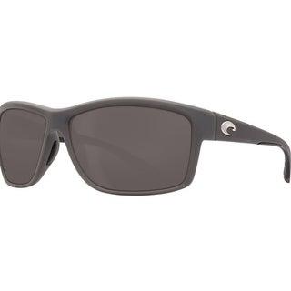 Costa Del Mar Mag Bay Polarized Matte Gray Sunglasses - AA-98-OGP