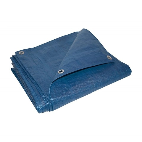 ALEKO Heavy Duty Multi-Purpose Polyethylene Tarpaulin Blue