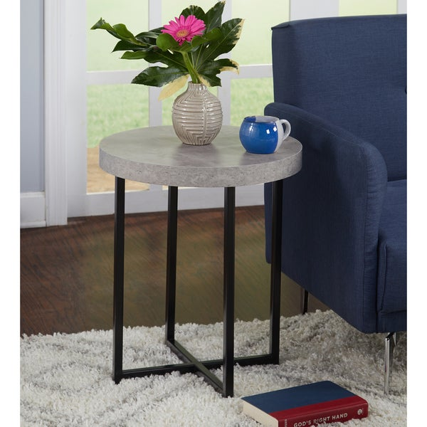 Shop Simple Living Era End Table Free Shipping Today Overstock