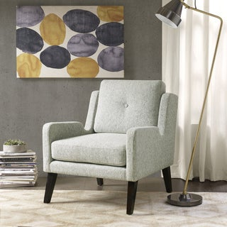 Ink+Ivy Margot Grey Wood Accent Chair