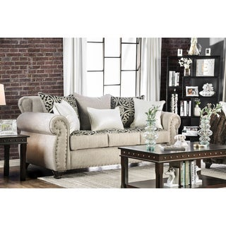 Daeler Traditional Sofa by FOA