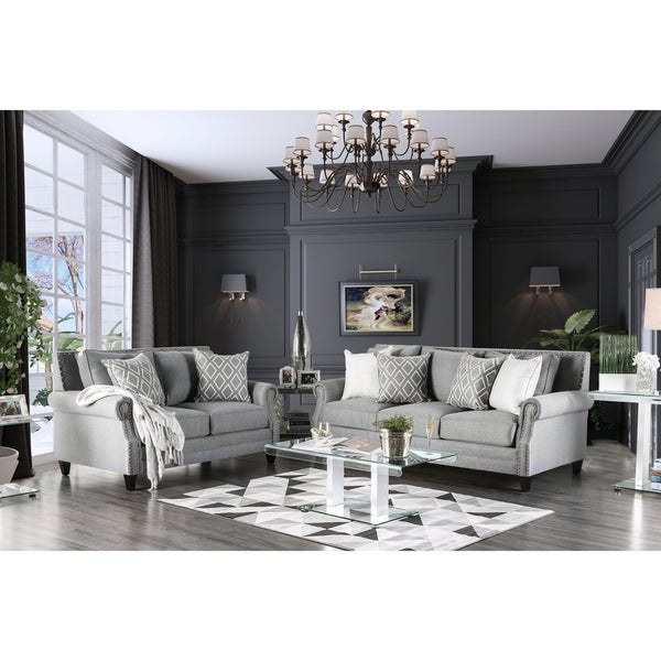 Sites Like Overstock For Furniture: Shop Furniture Of America Ferisen Contemporary 2-piece