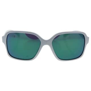 Oakley Proxy OO9312-07 - Women's Polished White/Jade Iridium Sunglasses