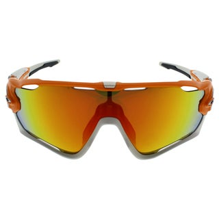 26190ec8af Oakley Jawbreaker OO9290-09 - Men s Atomic Orange Fire Iridium Polarized  Sunglasses