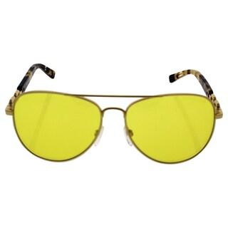 Michael Kors MK 1003 102485 Fiji Women's Gold Frame Yellow Lens Sunglasses