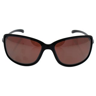 Oakley Cohort OO9301-06 - Women's Polished Black/Gray Gradient Polarized Sunglasses