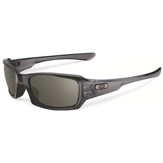 Oakley Fives Squared Rectangular Grey Smoke Mens Sunglasses - OO9238-923805