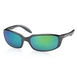 Costa Del Mar Brine Polarized Black Unisex Sunglasses BR-11-OGMGLP