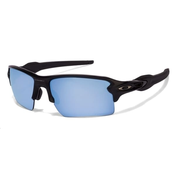 58302b4cf3 Oakley Flak 2.0 XL Polarized Matte Black Prizm Deep Water Mens Sunglasses -  OO9188-
