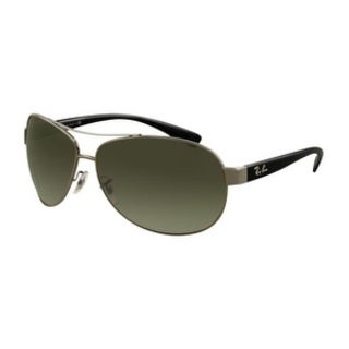 Ray-Ban Gunmetal Black Sunglasses RB3386-004/71-63